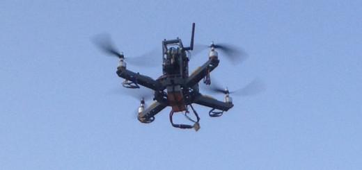 Drone Over Tucson